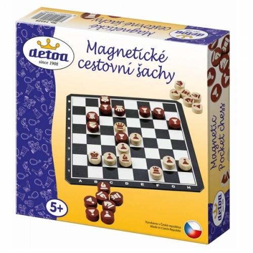 Detoa Šach magnetické cestovné