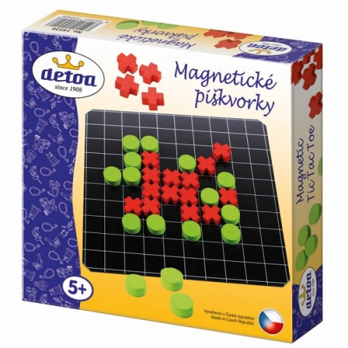Detoa Piškvorky magnetické cestovné