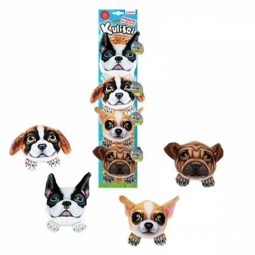 Kulíšci - plyšové psy, 9 cm, 4 druhy na karte