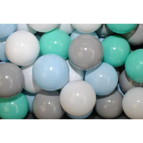 NELLYS Náhradné balóniky do bazéna - 200 ks, mix V
