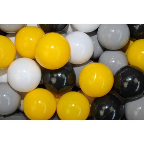 NELLYS Náhradné balóniky do bazéna - 200 ks, mix VI