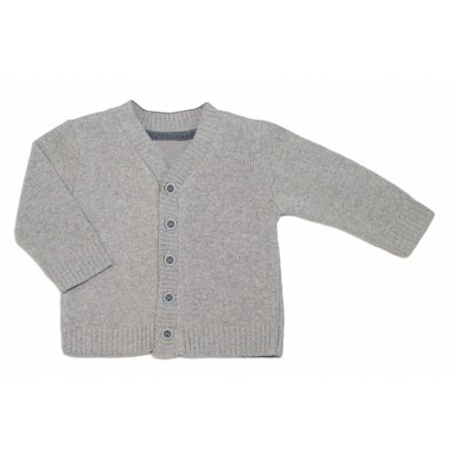 Chlapčenský svetrík K-Baby - sv. sivý, vel. 92 - 92 (18-24m)