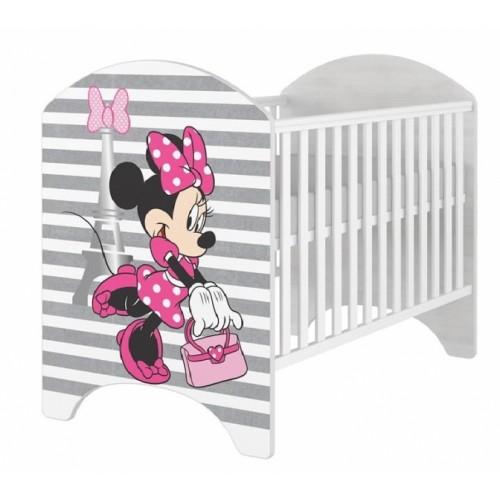 BabyBoo Dětská postieľka Disney Minnie varíži - 120x60cm