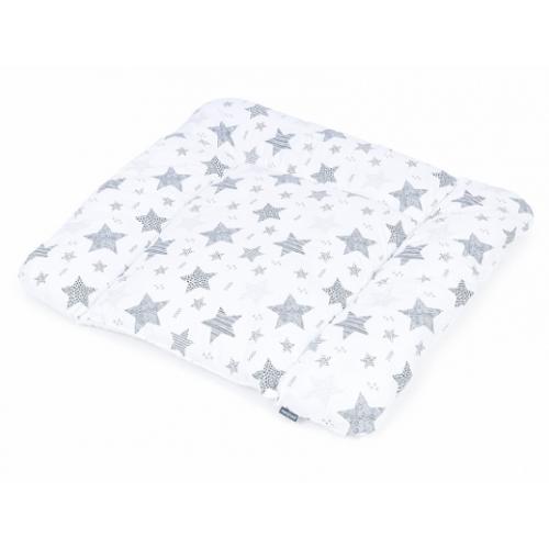 Mamo Tato Prebaľovacia podložka 70 x 75 cm - Starmix sivý