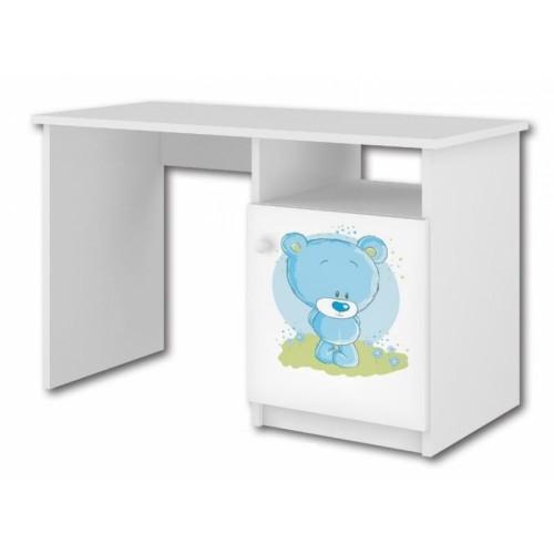Babyboo Písací stôl Macko modrý