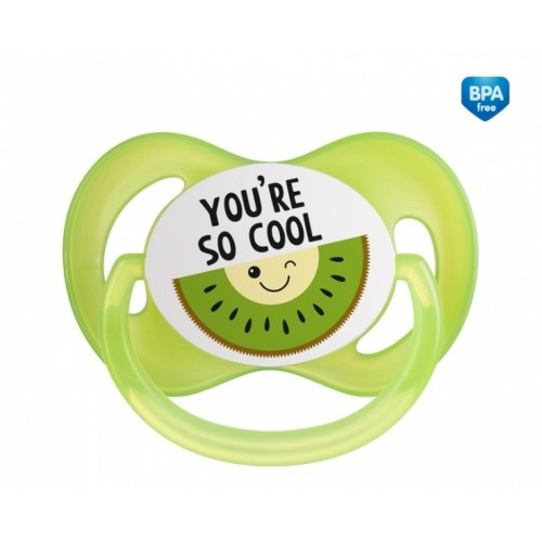 Canpol babies Cumlík symetrický So Cool 0-6 m A - zelený