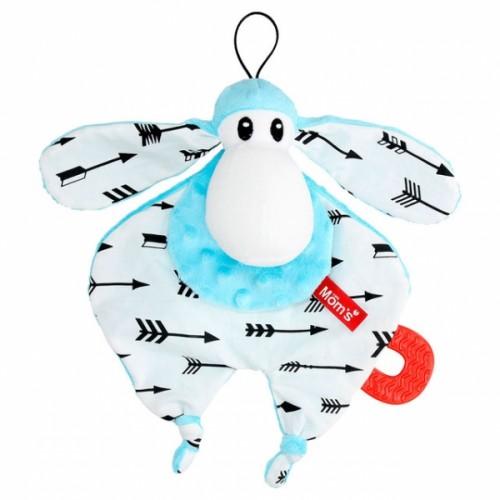 Hencz Toys Plyšová hračka v kontrastných farbách Sheepi - modrá