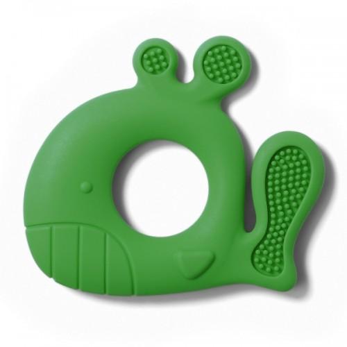 BabyOno Detské hryzátko velryba Pablo kat.935 / 02, zelená