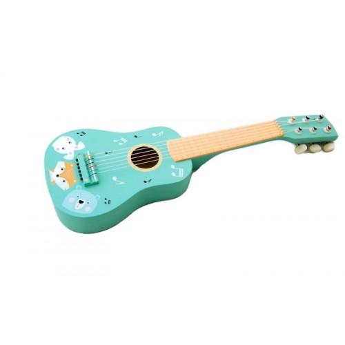 Adam Toys Drevená gitara zvieratka