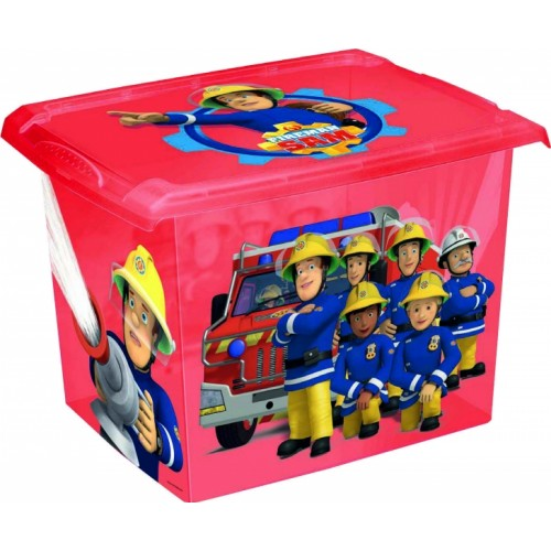 Keeeper Box na hračky Fireman Sam  20,5 l - červený