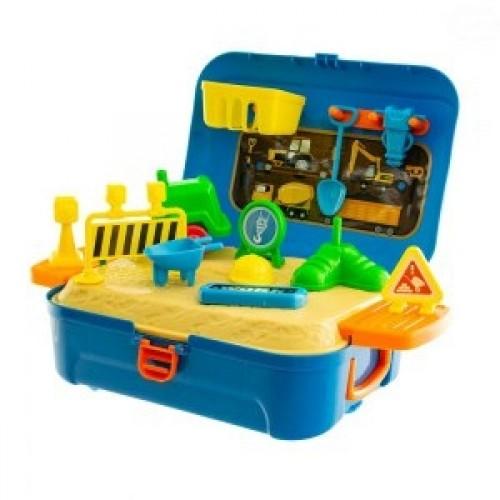 Euro Baby Cestárské  práce v plastovom kufríku
