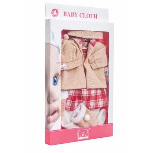 Sada oblečení pre bábiku , veľ. 43 cm - Kárko