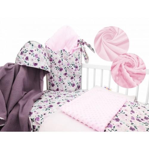 Baby Nellys 6-dielna výhodná súprava pre bábätko s darčekom, 120 x 90cm - Auta ve městě - 120x90