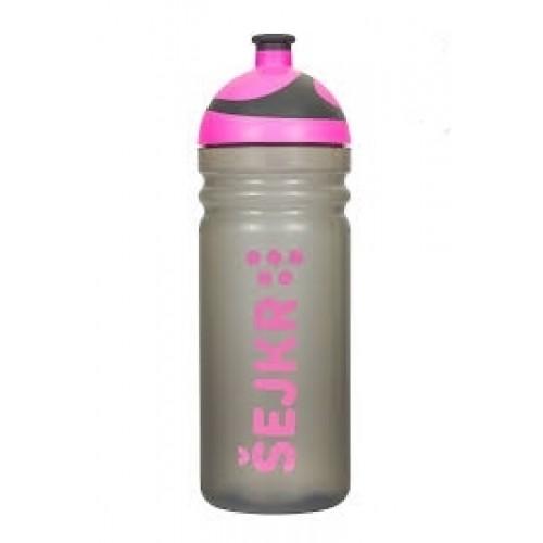 R&B Mědílek s.r.o. Shaker Zdravá fľaša so sitkom 0,7 l - růžová