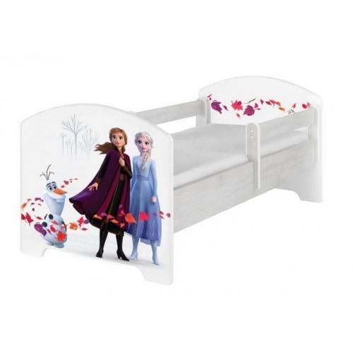 Babyboo Detská posteľ 140 x 70 cm Disney - Frozen II - 140x70
