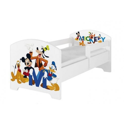 Babyboo Detská posteľ 140 x 70 cm Disney - Mickey Friends - 140x70