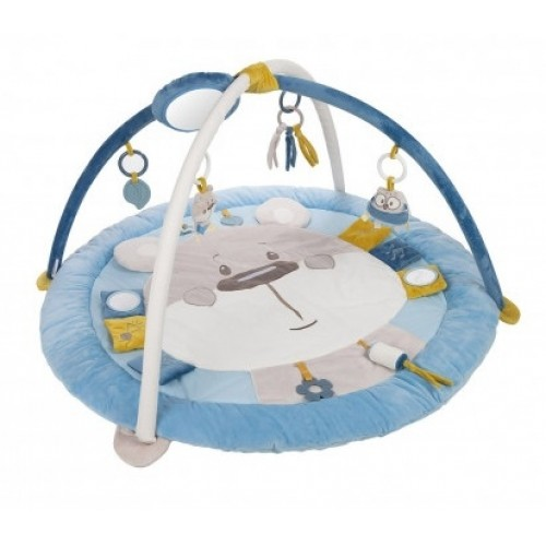 Canpol Babies, Edukačná hracia podložka Pastel friends - sivá