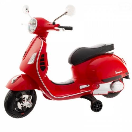 Euro Baby akumulátorový skúter Vespa - červený