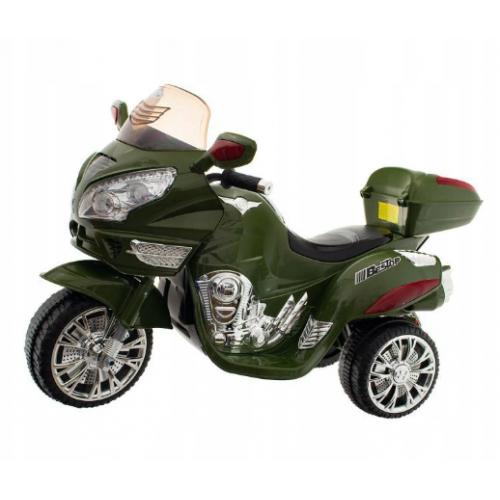 Euro Baby akumulátorový motocykel - Zelený