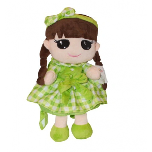 Túlilo Detský batôžtek bábika Kajka - zelený