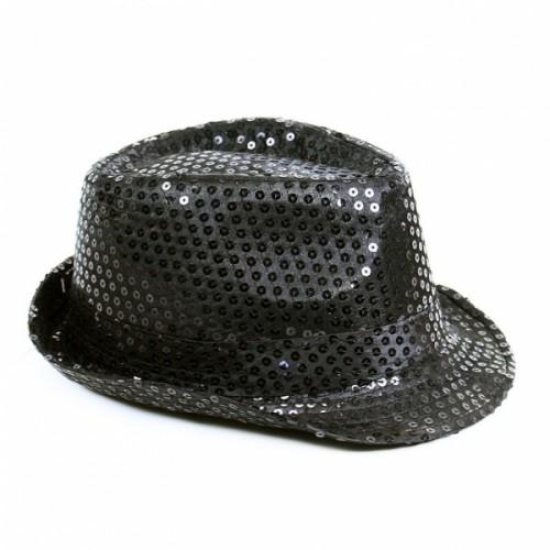 Klobuk disco černý dospělý - Michael Jackson style
