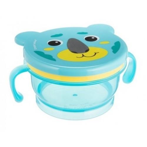 Canpol babies Uzatvárateľná miska Hello Little - medvedík