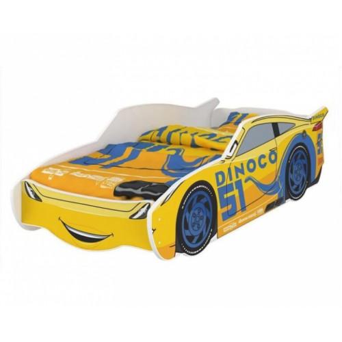 Nellys Detská posteľ Super Car DINO 160 x 80 cm - 160x80