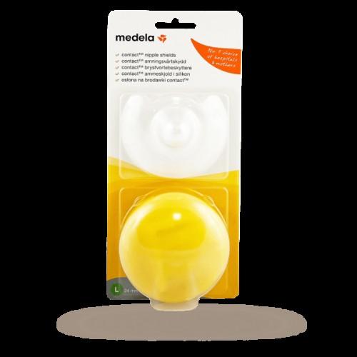 Medela Klobúčik prsných bradaviek Contact - 2ks, veľkosť L