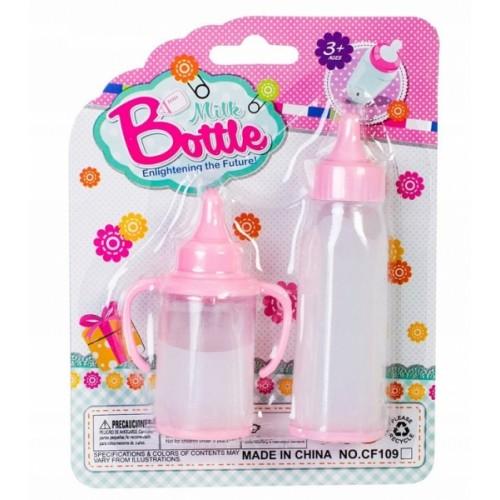 Doris Sada fliaš pre bábiky s kúzelným mliekom - 2 ks