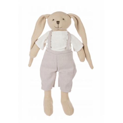 Canpol babies Maznáčik Zajíček BUNNY - béžový, 35 cm
