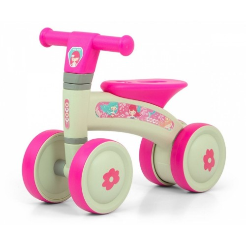 Milly Mally Detské odrážedlo - Coco Pink