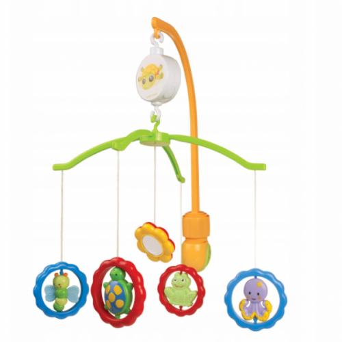 Canpol babies Kolotoč nad postieľku - JZvieratká so zrkadielkom