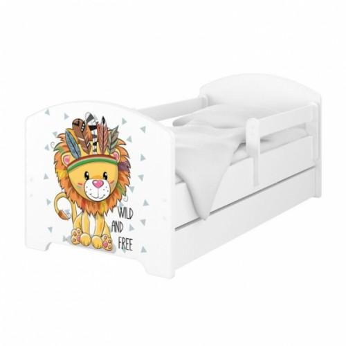 Babyboo Detská posteľ 140 x 70 cm - Lev - 140x70