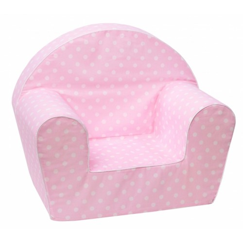 Delsit Detské kresielko, pohovka - Mini Bubbles v ružové