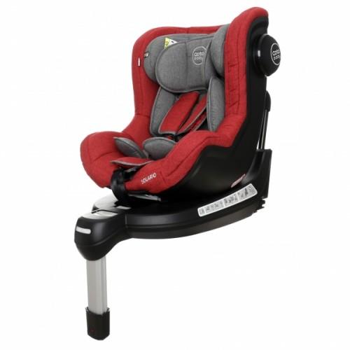 Coto Baby Autosedačka Solária s 360 °otáčaním, ISOFIX systémom,protismerná, 0-18 kg,  red