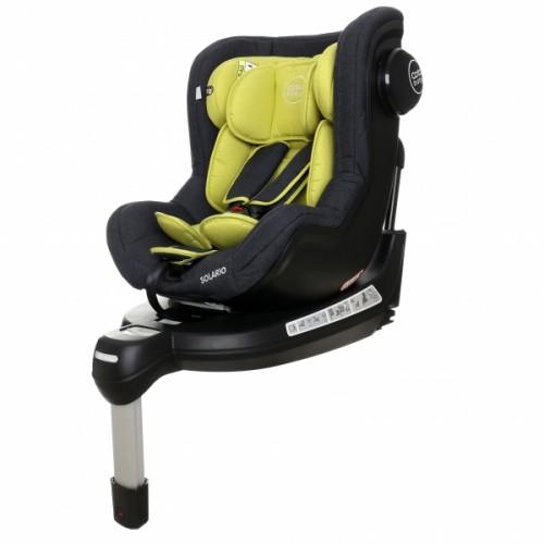 Coto Baby Autosedačka Solária s 360 °otáčaním, ISOFIX systémom,protismerná, 0-18 kg, olive