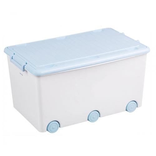 Tega Baby Pojazdný box na hračky - biely