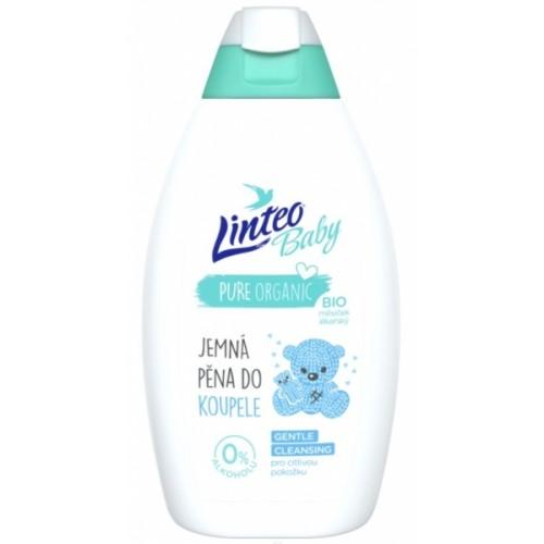 Pena do kúpeľa s BIO nechtíkom lekárskym LINTEO BABY - 425 ml