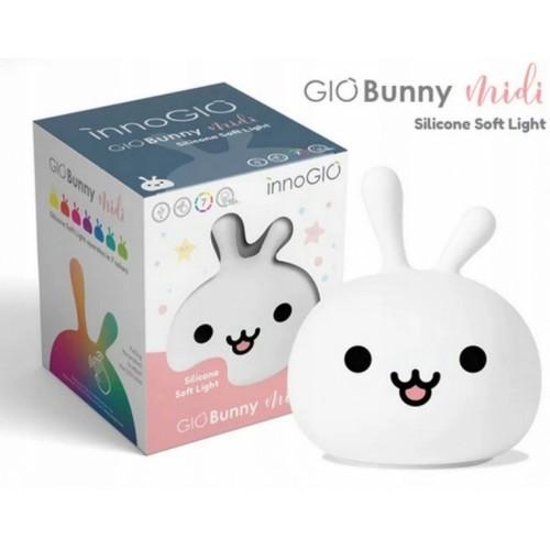 Innogio Prenosná silikónová lampička- Bunny