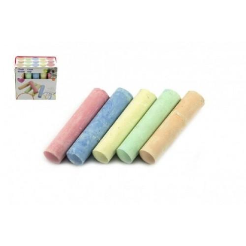 Kriedy farebné chodníkové 10,5x2,5x2,2cm 15ks v krabičce 24m+