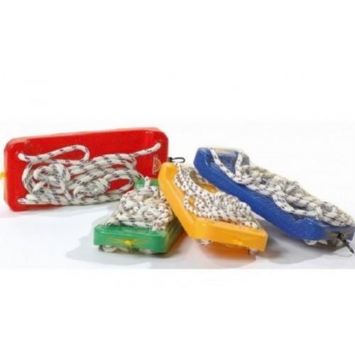 Eco toys Záhradná hojdačka - doska, rôzne farby