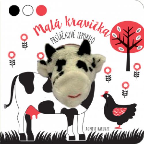 Malá kravička - prsťáčkové leporelo  Poznávaj dotykom - Na vidieku