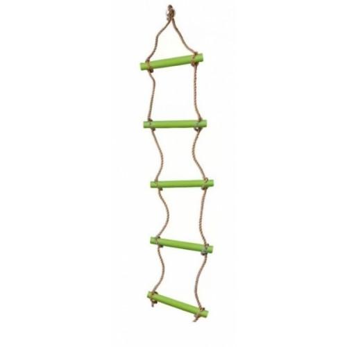 Dvěděti Lezecký rebrík s priečkami - zelený