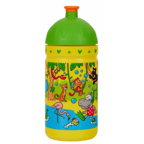 R & B Mědílek s.r.o. Zdravá fľaša - 0.5l - Džungľa, žltá