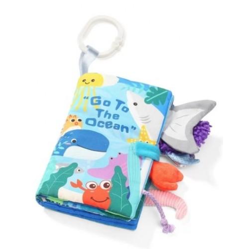 BabyOno Mäkká senzorická knižka -Oceán