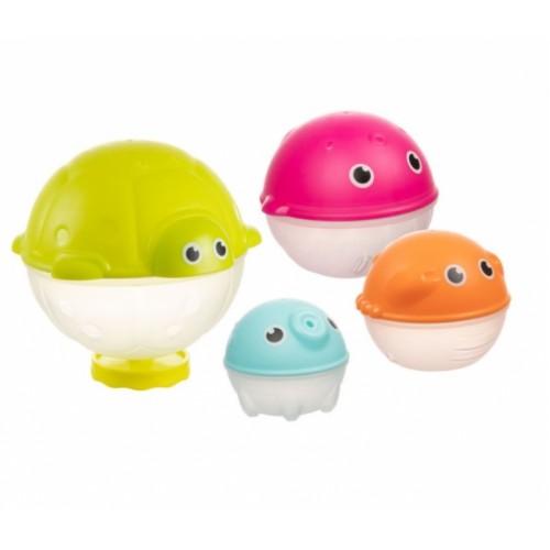 Canpol babies Sada kreatívnych hračiek do vody so sprchou, OCEÁN