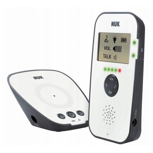 NUK Detská digitálna pestúnka ECO CONTROL 530D - biela / šedá
