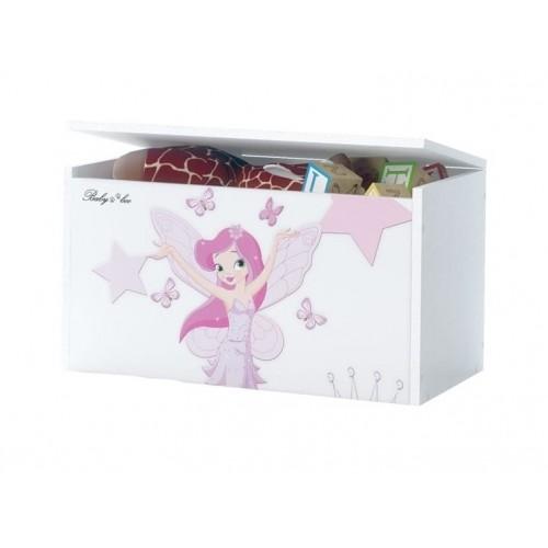 Babyboo Box na hračky s motívom   Little Princess