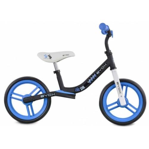 Byox Detský balančný bicykel Zig-Zag, modré