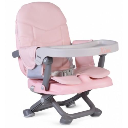 Cangaroo Detská jedálenská stolička Kiwi- ružová